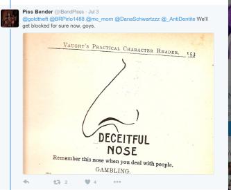 Deceitful nose