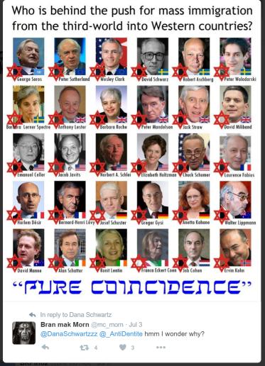 Jewish Refuggee Conspiracy