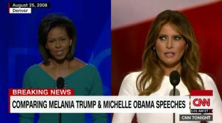 Michelle v Melania